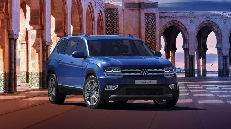 Volkswagen Jordan Ramadan offer featuring the VW Teramont