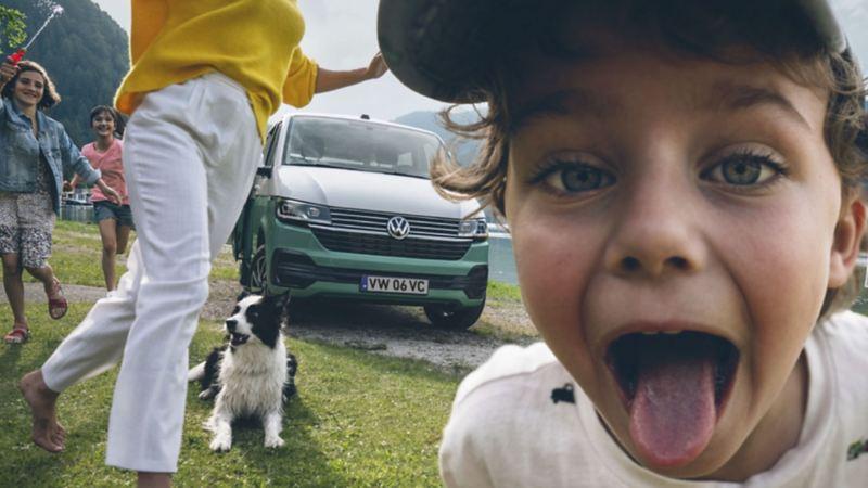Transporte de crianças VW Transporter 6.1