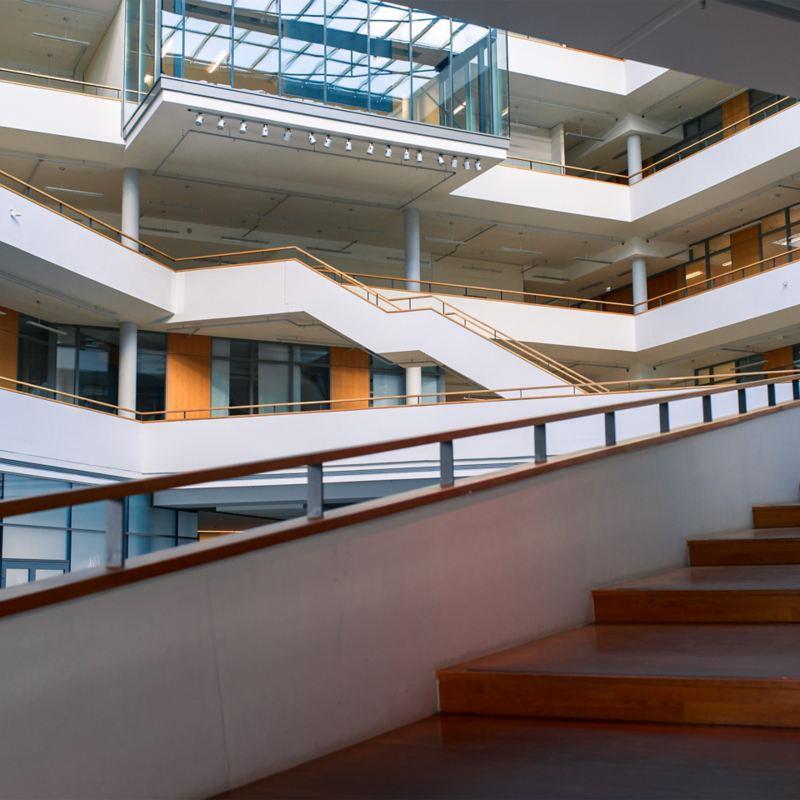 Innenaufnahme des Mobile Life Campus in Wolfsburg