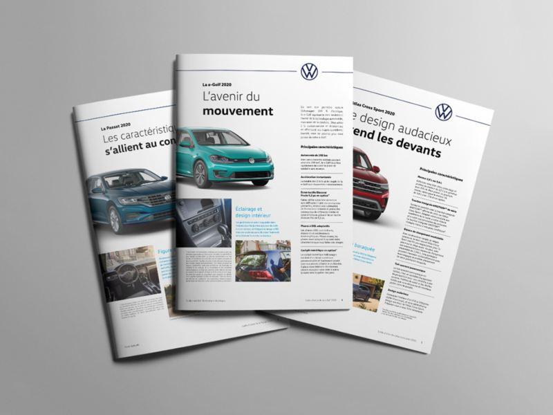 Différents guides d'achat Volkswagen