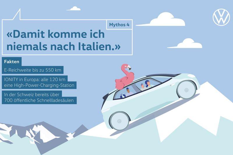 Mythos 4 «Damit komme ich niemals nach Italien.»