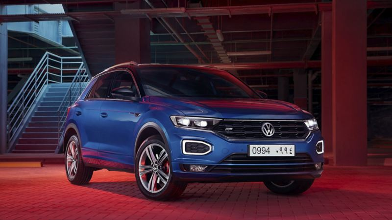 The new VW T-Roc in the Volkswagen Abu Dhabi Ramadan campaign.