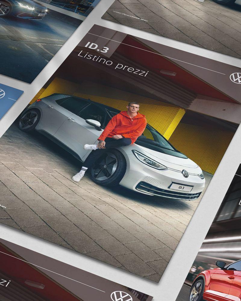 Alcuni Listini Volkswagen visti dall'alto