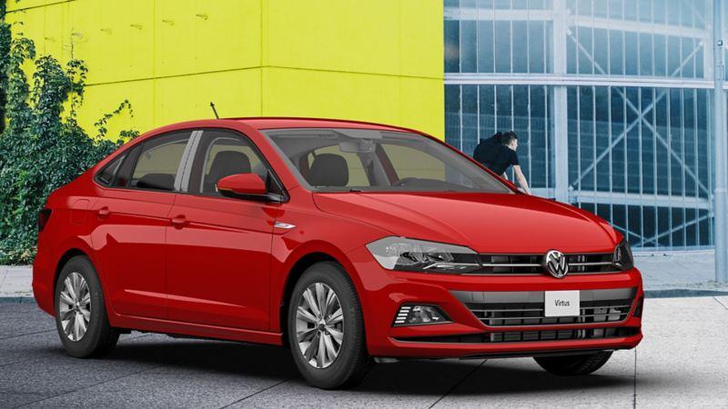VW Virtus, el sedán más joven de la gama