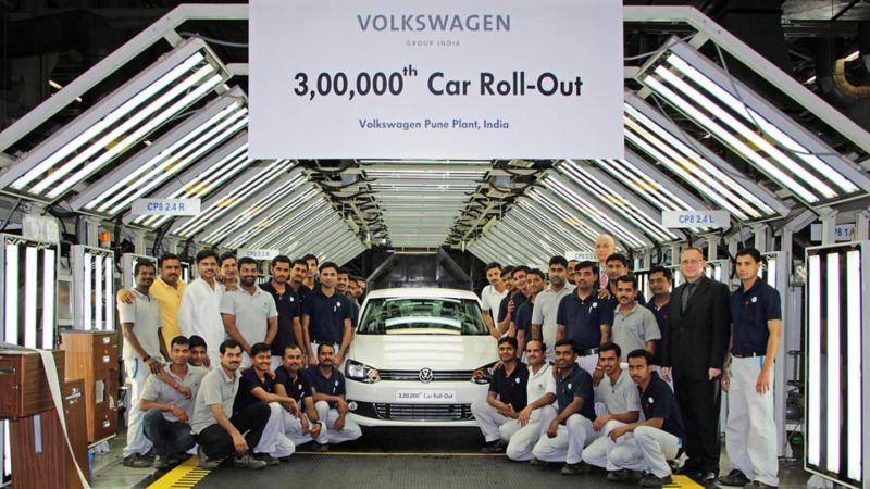 Volkswagen India Production