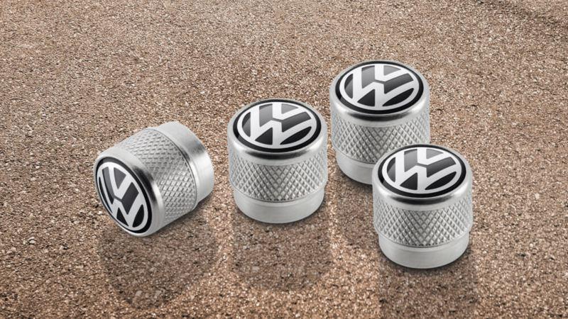Volkswagen Tiguan Genuine Valve caps with VW logo