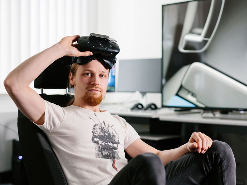 Virtual Reality Developer bei Volkswagen