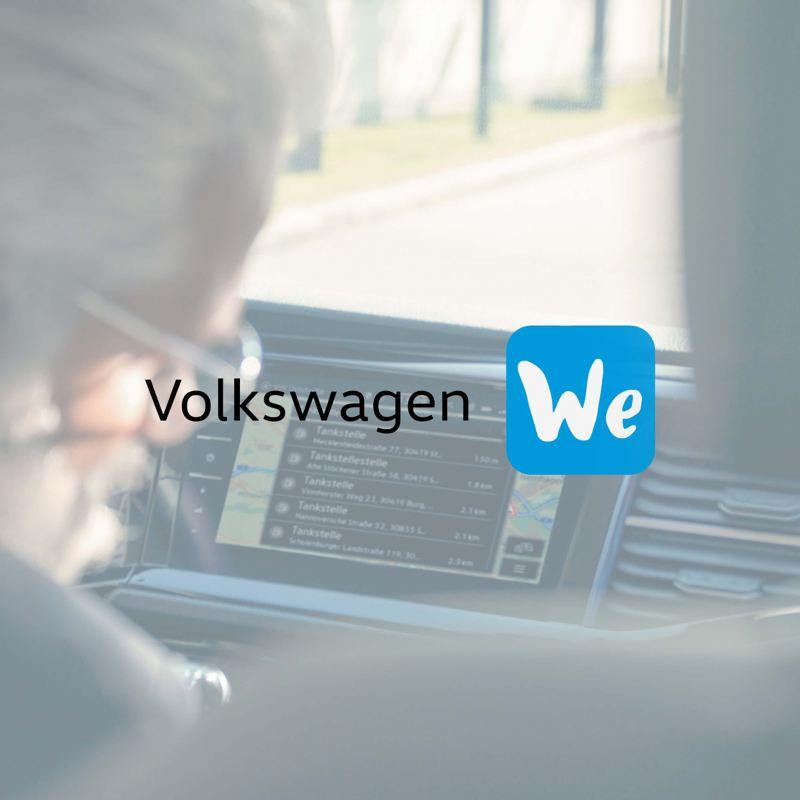 Volkswagen We Connect logo