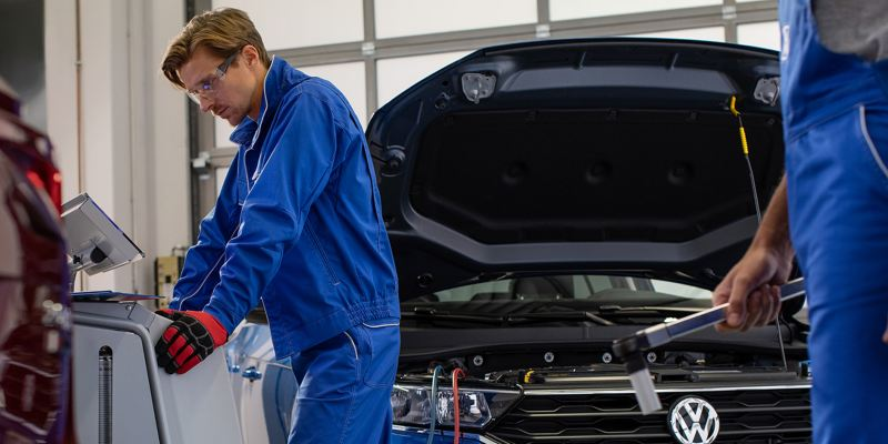 Whats in a Volkswagen service