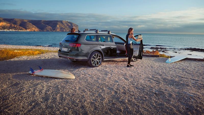 Volkswagen Passat Alltrack fyrhjulsdriven