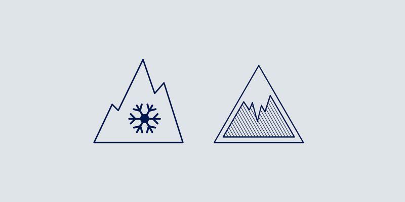 Illustration de l'adhérence sur la glace et la neige - Pneus VW