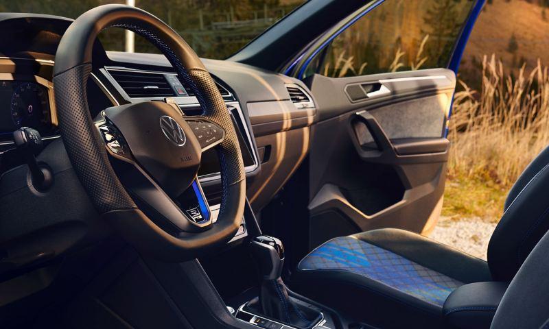 The elegant interior of the VW R Tiguan R
