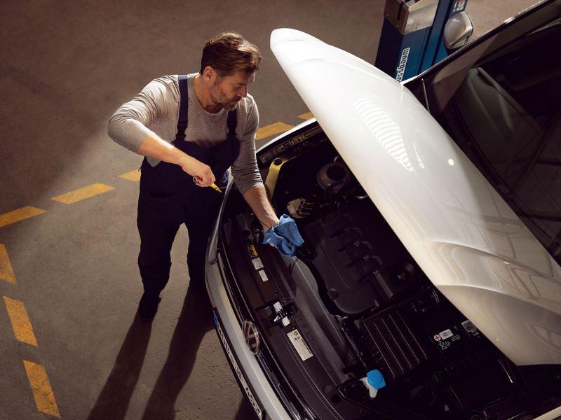 引擎保養機油
