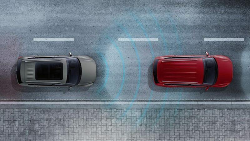 controle adaptativo de velocidade e distância