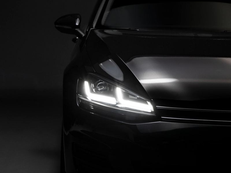 LED Headlights Upgrade for Golf 7 with Halogen headlights