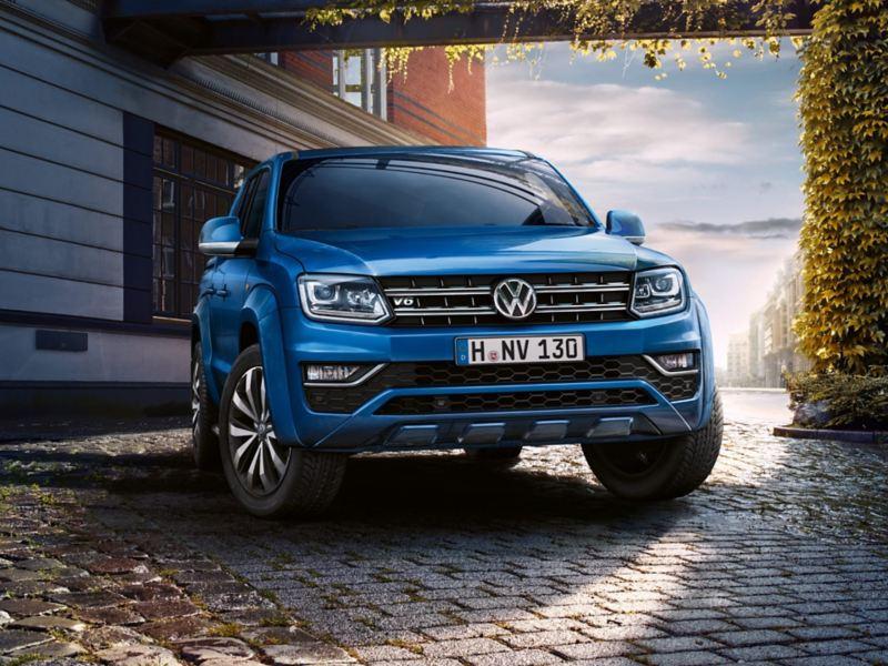 Volkswagen Amarok visto di fronte