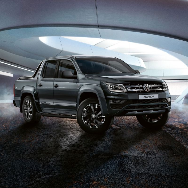 """Volkswagen Amarok """"Dark Label"""" z V6."""