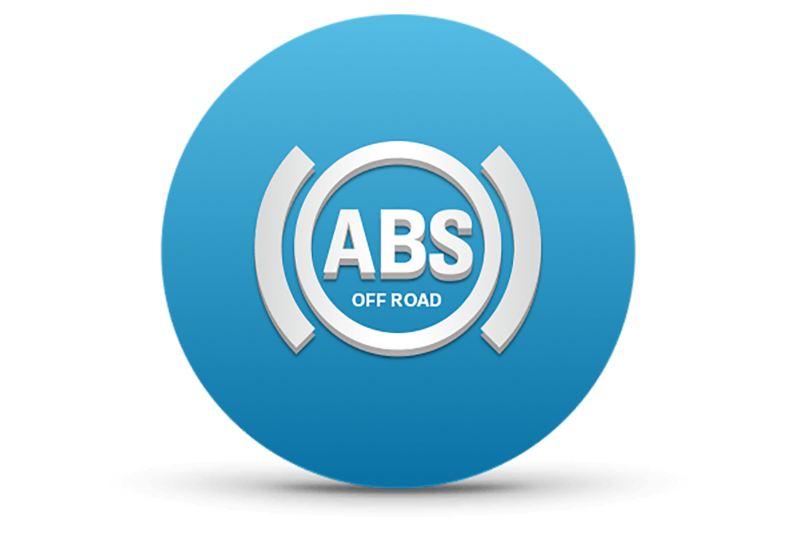 Sistema ABS con función Offroad