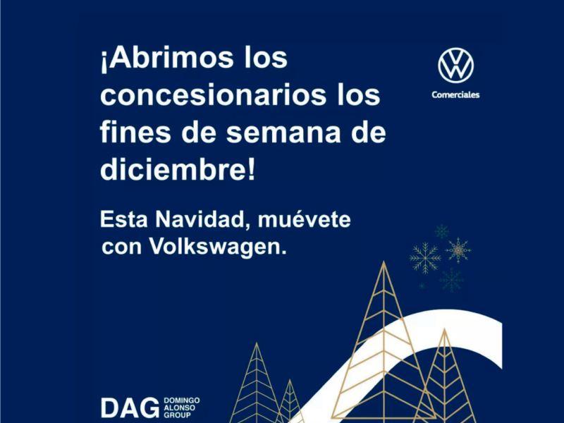 VW Comerciales Canarias en Navidad