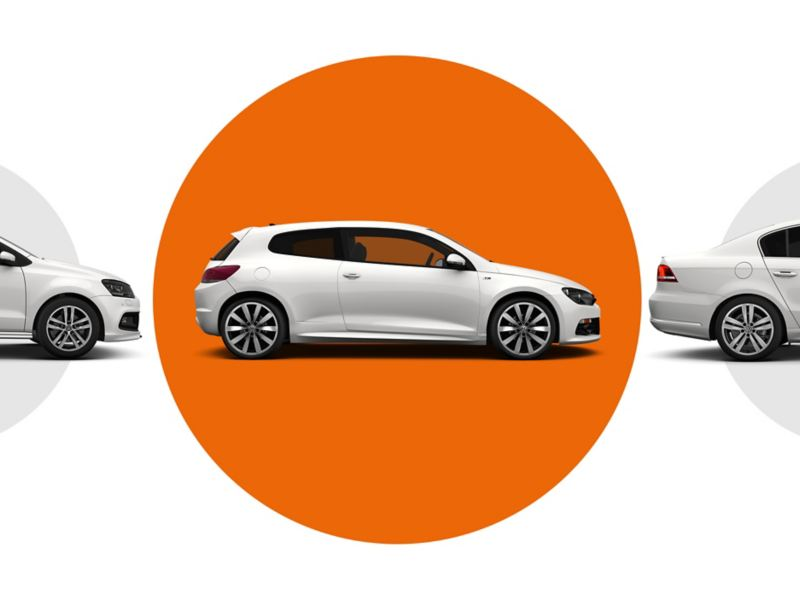 3 Volkswagen Approved Used cars