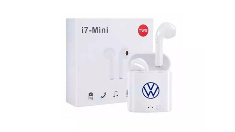 Audífonos inalámbricos de Volkswagen para escuchar música y contestar llamadas parte de VW Collection