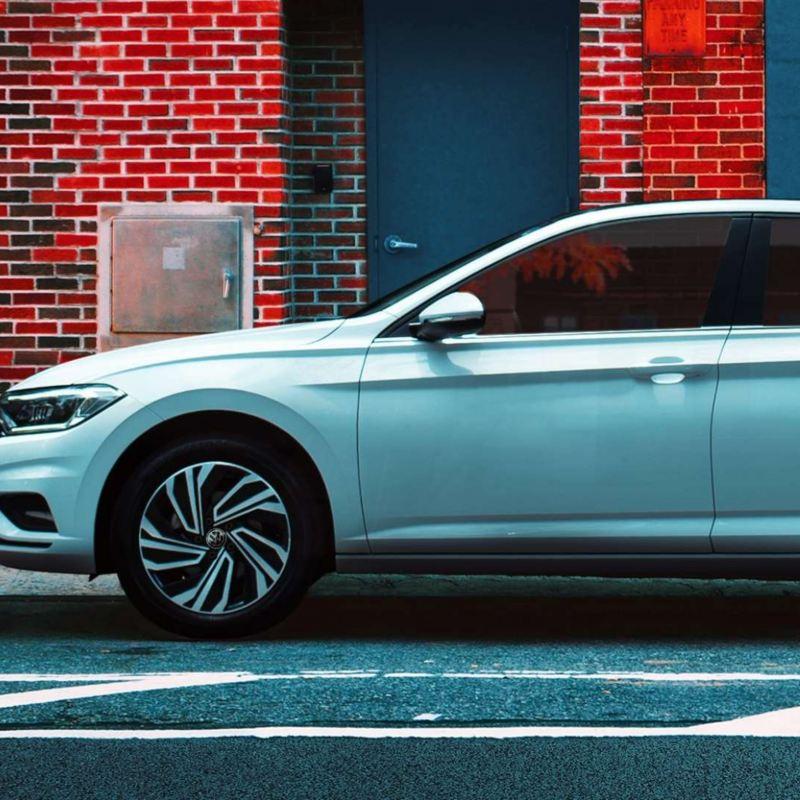 Imagen de auto sedán de Volkswagen