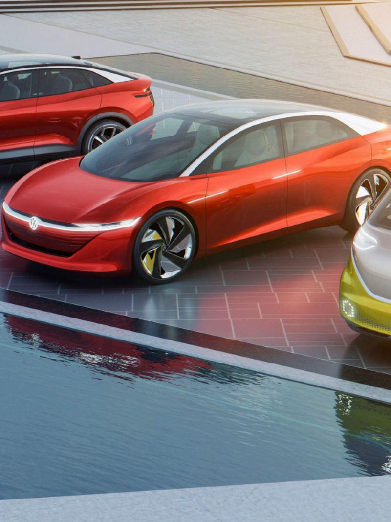 Autos eléctricos de la Familia ID Volkswagen