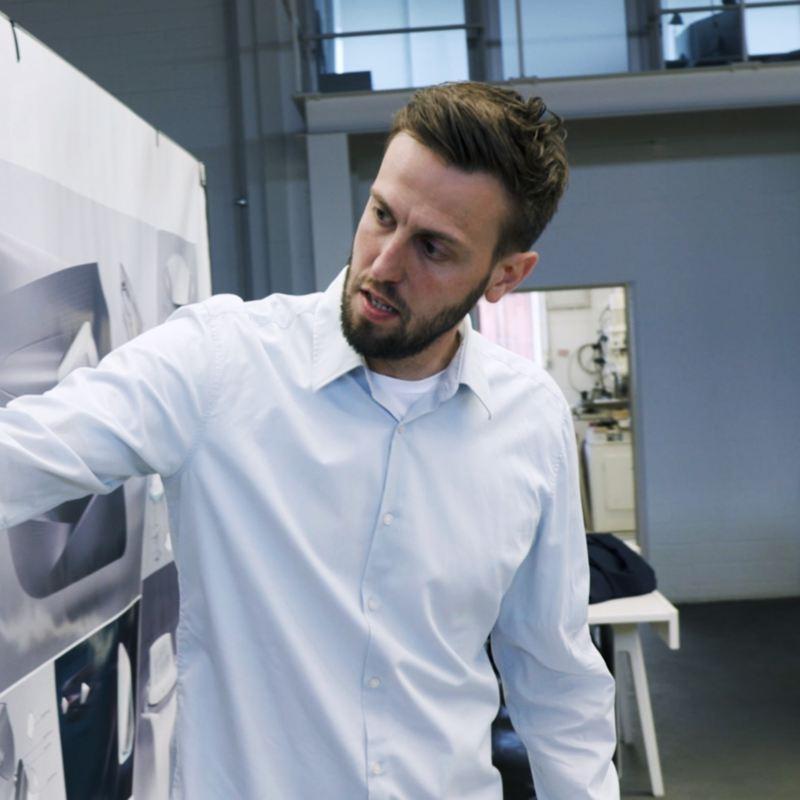 Volkswagen's Gebel with interior drawings