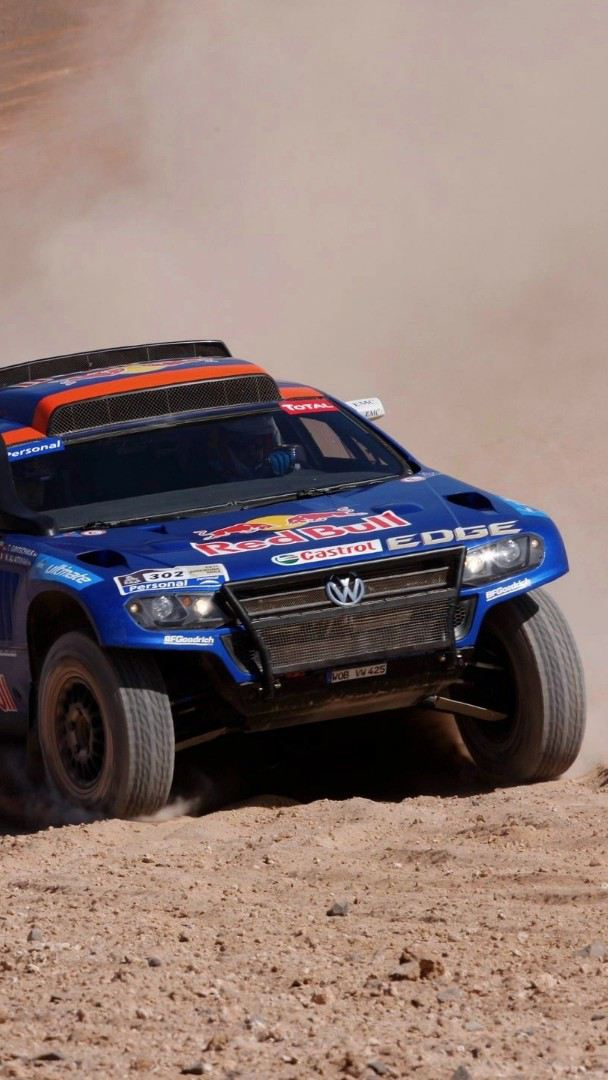Touareg Race, auto de carreras de Volkswagen ganador de Rally Dakar en 2010 y 2011