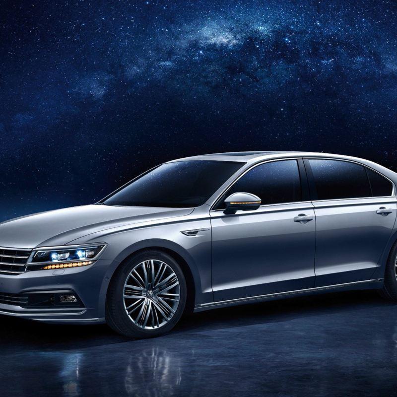 Volkswagen Phideon, el lujoso sedán de VW vendido en China