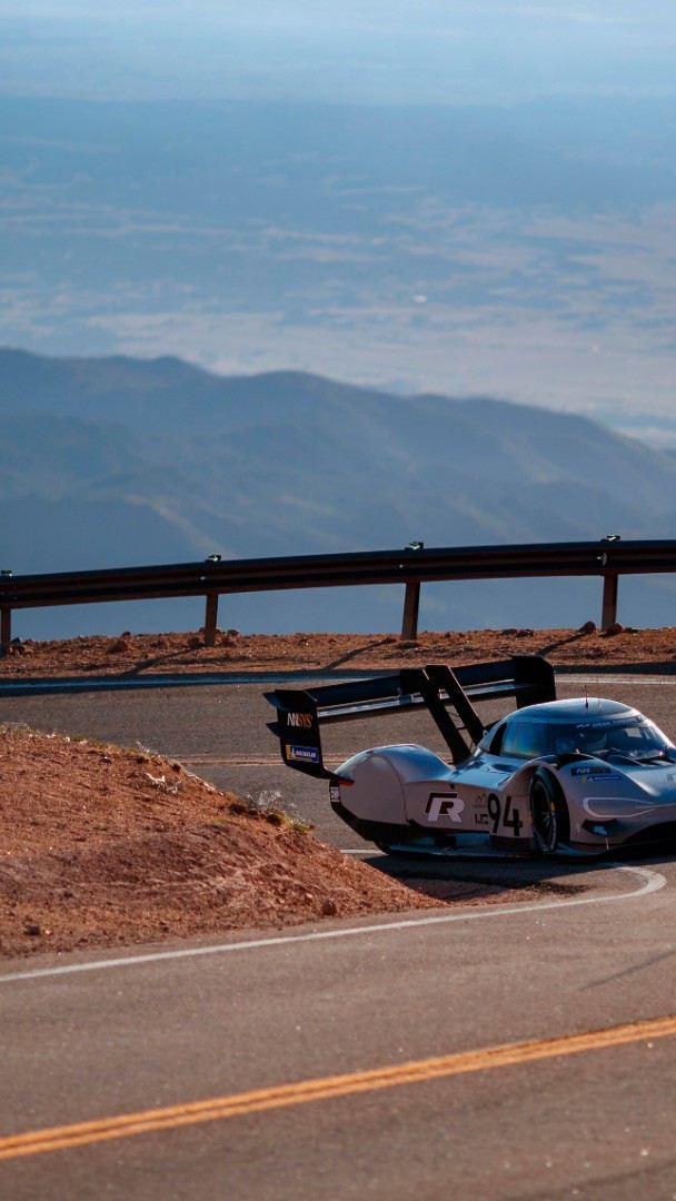 I.D. R Pikes Peak - Prototipo de auto eléctrico de carreras de Volkswagen