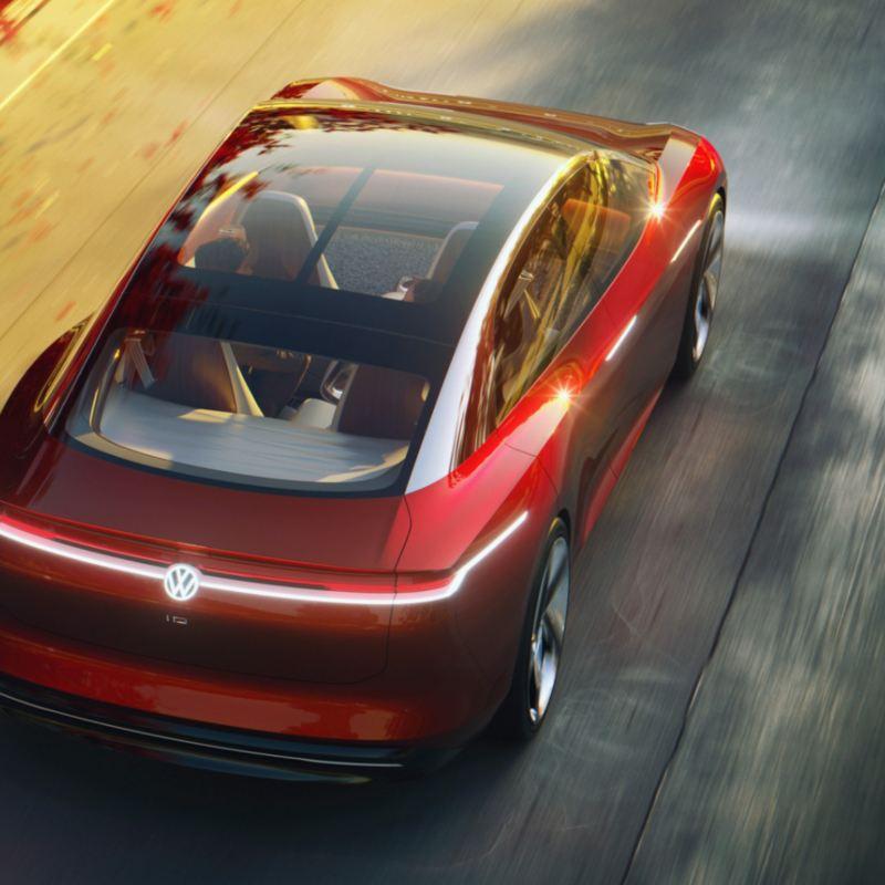 SUV eléctrica ID. Roomz de Volkswagen creada con MOIA, startup de movilidad de VW