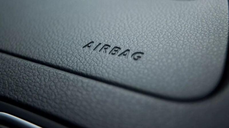 Indicador de bolsas de aire de VW Vento 2021, el auto más seguro del mercado