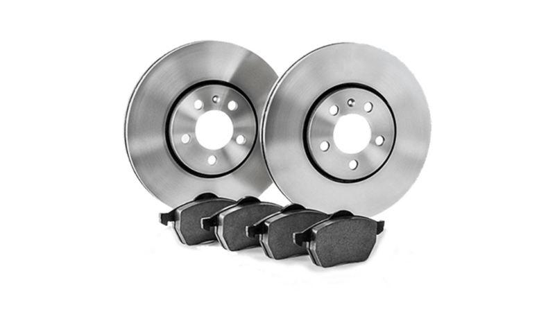 Volkswagen brake pads and discs