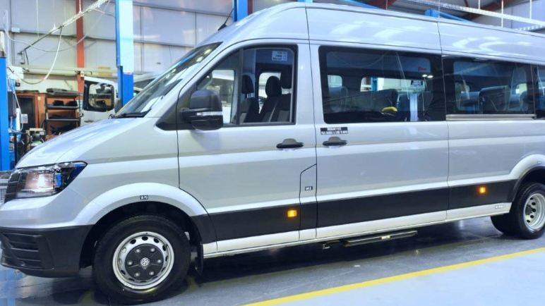 Crafter accessible minibus