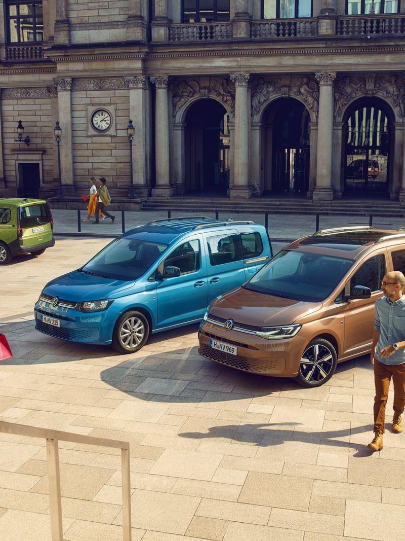 La nuova gamma Caddy, con Caddy, Caddy Cargo e Caddy California