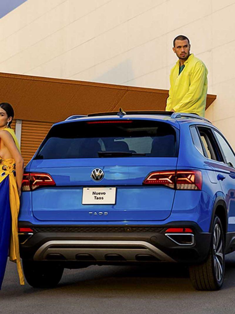 Camioneta Volkswagen Nuevo Taos versión Highline. Conoce sus características y features.