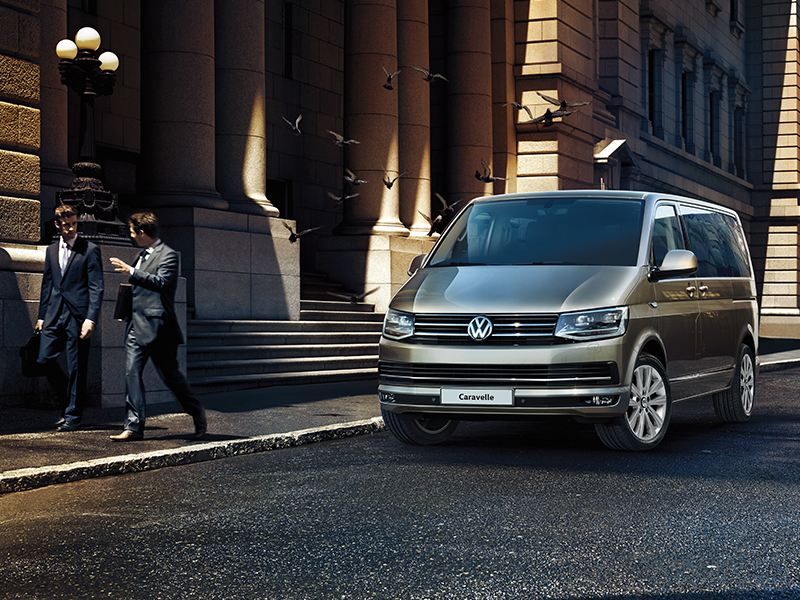 The Volkswagen Caravelle