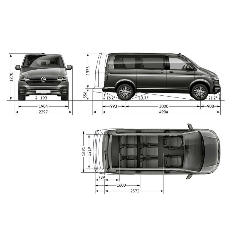 Транспортер 2020 габариты купить фольксваген транспортер 2010 на авито