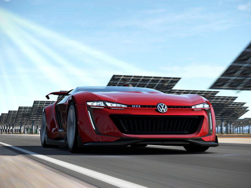 Volkswagen GTI Roadster - Carro deportivo parte de videojuego Gran Turismo 6