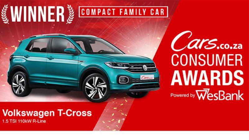 t-cross, compact family car cars.co.za winner