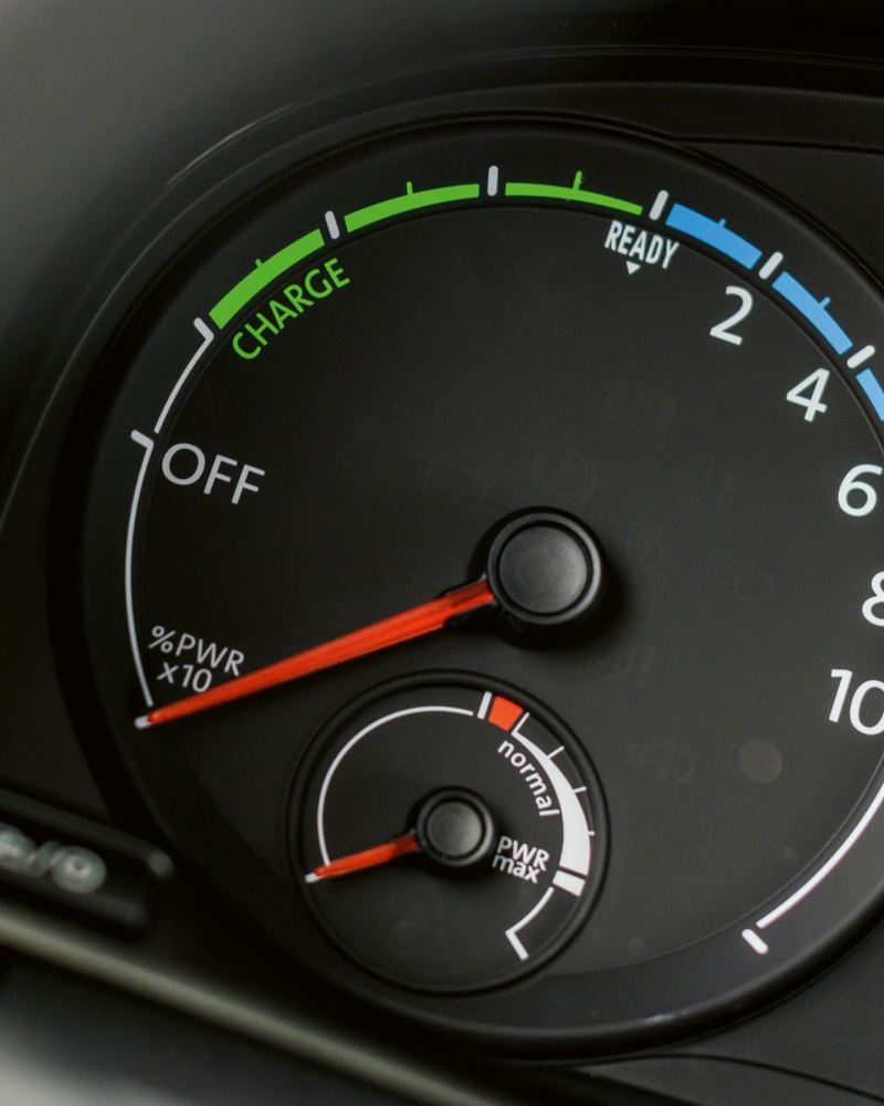 tableau de bord compteur électrique électromobilité technologie volkswagen véhicules utilitaires