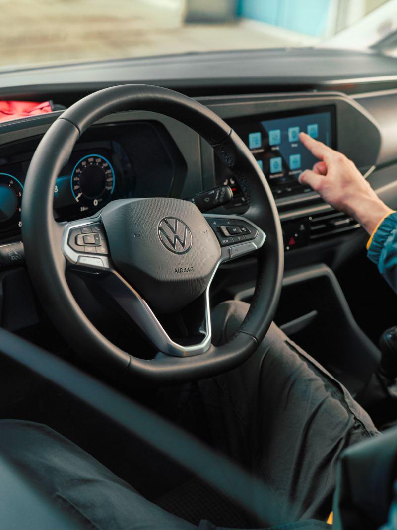 L'intérieur du nouveau Caddy Cargo Volkswagen