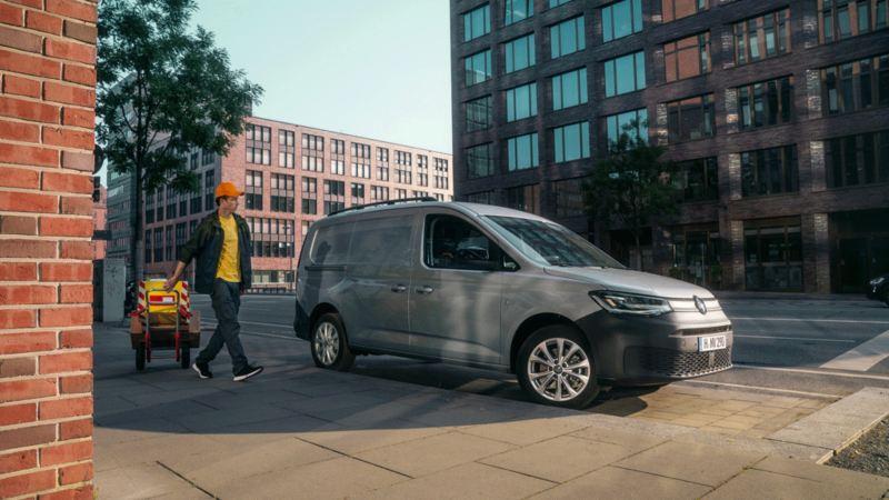 vw Volkswagen Caddy liten varebil 4x4 firehjulstrekk 4MOTION service- og vedlikeholdsavtale