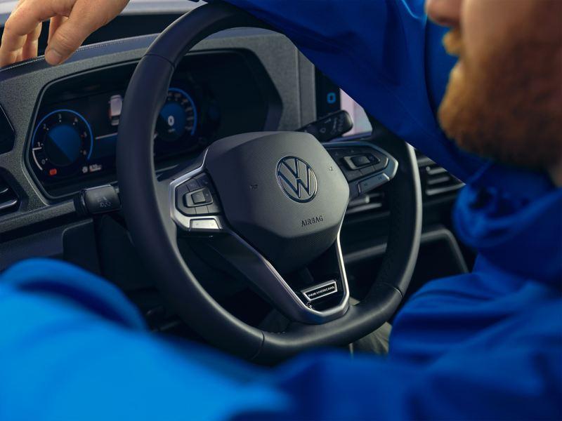 Das Digital Cockpit des VW Caddy PanAmericana.