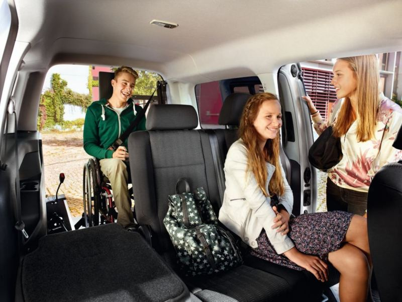 Passengers in the Caddy Mobility