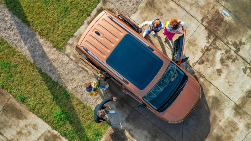 VW Volkswagen den nye Caddy Maxi personbil familiebil flerbruksbil 7 seter 9 seter