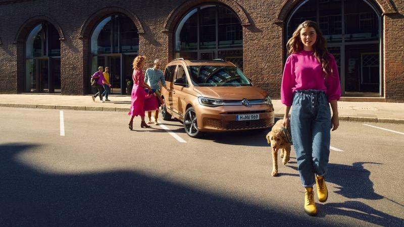 Der neue Caddy ist in den Varianten Caddy, Life und Style erhältlich