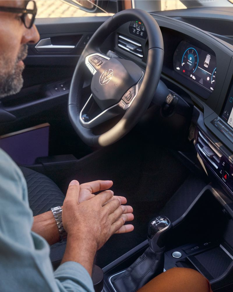 Ihr Smartphone ist dank We Connect mit Ihrem Volkswagen Nutzfahrzeug verbunden.
