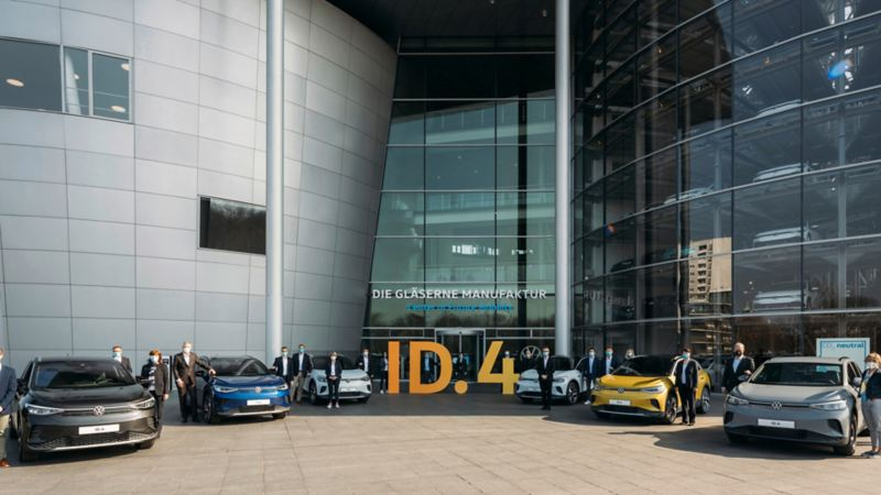 volkswagen id 4 center of future mobility